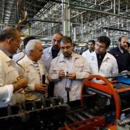 گزارش تصویری بازدید مدیرعامل گروه خودروسازی سایپا از مگاموتور