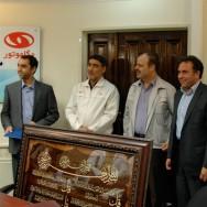 مهندس شیخ عطار مدیرعامل مگاموتور:/  تلاش در جهت اهداف گروه و حفظ نام سایپا وظیفه همه ماست