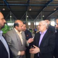 همزمان با حضور رئیس جمهور در قزوین و از طریق ویدئوکنفرانس انجام شد:/ آغاز بهره برداری از شرکت تولید لنت ترمز