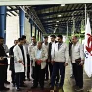 افتتاح خط میکسینگ مواد شرکت صنایع لنت پارسیان پیشرو