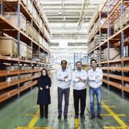 استاندارد سازی و ارتقاء کیفیت در انبار سایت شمالی مگاموتور