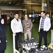 بازدید معاون مدیرکل استان و رئیس اداره محیط زیست شهر تهران از شرکت مگاموتور