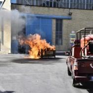 تقدیر از آتش نشانان مگاموتور در روز آتش نشانی و ایمنی